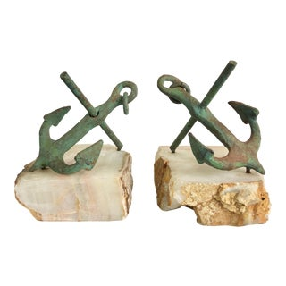 Curtis Jere Nautical Bookends - a Pair For Sale