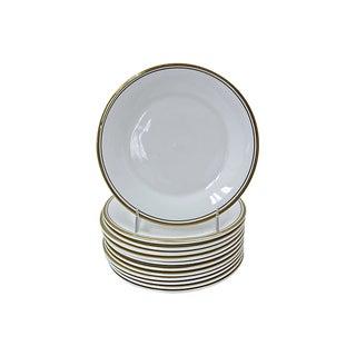 Royal Doulton Gilded Edge Plates - Set of 12