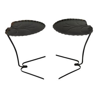 Salterini Lily Pad Tables - a Pair