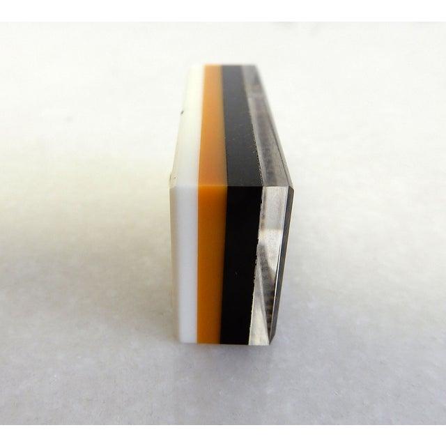 Rare Herman Miller Leather Case Poker Game/Domino - Image 8 of 9