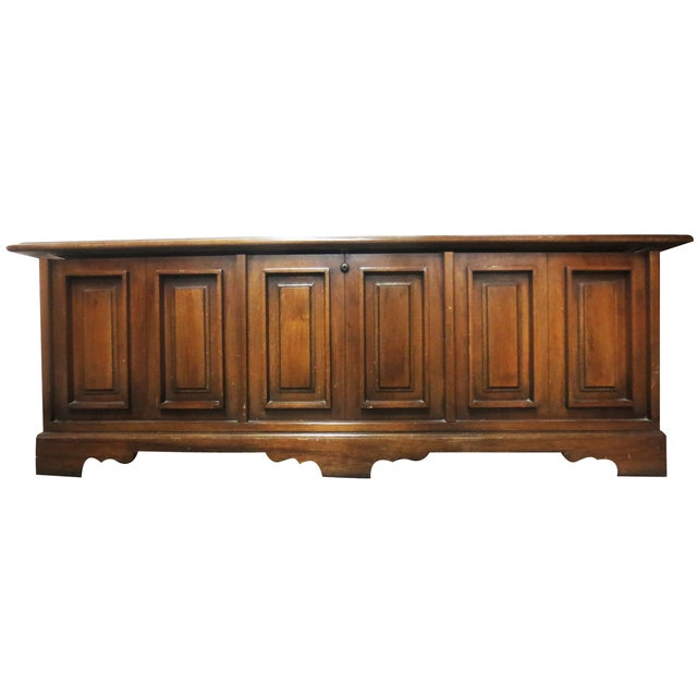 Lane Low Paneled Cedar Chest - Image 3 of 9