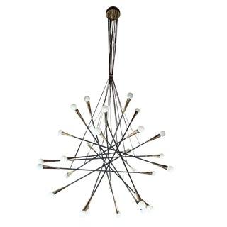 Grand Sputnik Chandelier For Sale