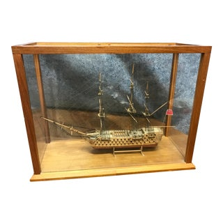 English Model Ship in Box For Sale