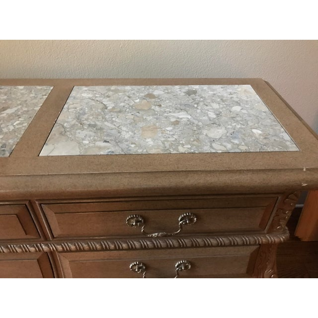 Silver 1990s Traditional Marge Carson Dresser For Sale - Image 8 of 11