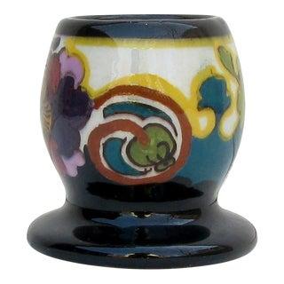 1920s Dutch Gouda Ivora Juliana Match Holder / Vase For Sale