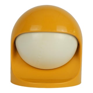 "Space Age Lightolier ""Interplay 2"" Yellow Lamp For Sale"