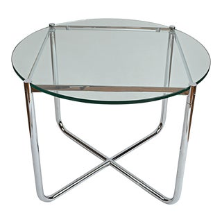 Mies van der Rohe MR Round Side Table For Sale