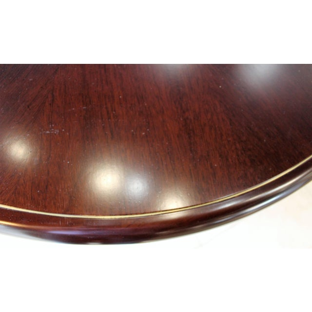 Modern 20th Century Dunbar Round Dining or Conference Table For Sale - Image 3 of 9