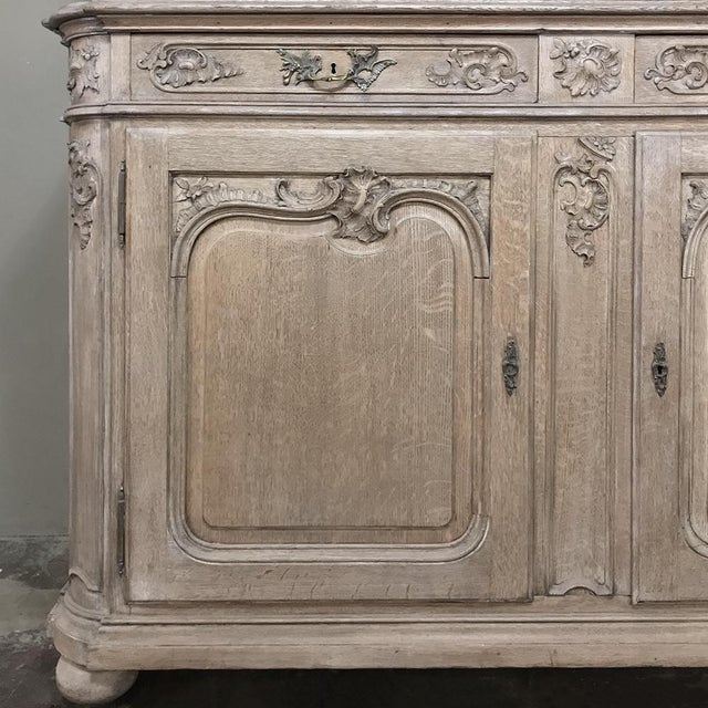 19th Century Country French Provincial Stripped Bookcase ~ Vitrine For Sale In Dallas - Image 6 of 13