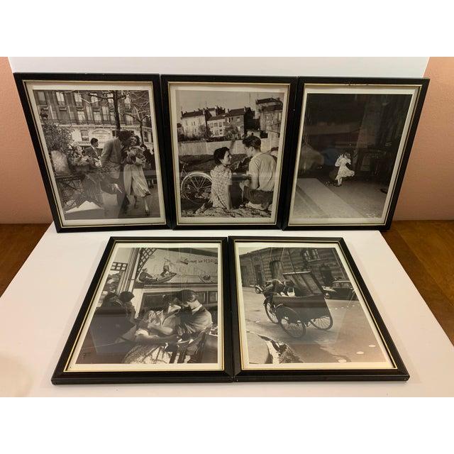 1990s Robert Doisneau Graphique De France Photo Reprint Offset Lithographs - Set of 5 For Sale - Image 13 of 13