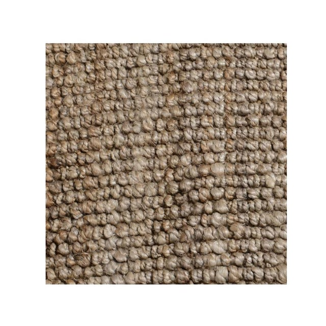 Contemporary Chunky Loop Natural Rug - 5' x 8' For Sale - Image 3 of 3