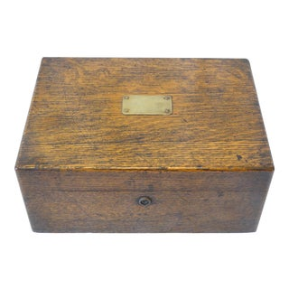 Late 19th Century Wooden Humidor
