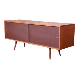 Paul McCobb Planner Group Mid-Century Modern Credenza or Record Cabinet, 1950s For Sale