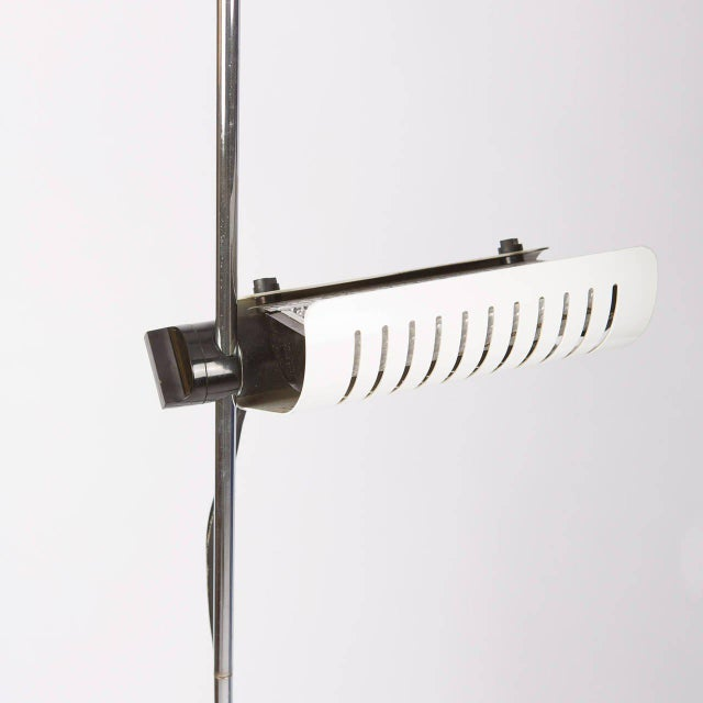 """Metal Set of Three """"Colombo"""" Ceiling Lamps by Joe Colombo for Oluce For Sale - Image 7 of 10"""