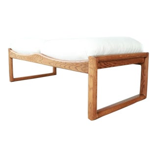 1970s Vintage Mid Century Modern Lou Hodges bench For Sale