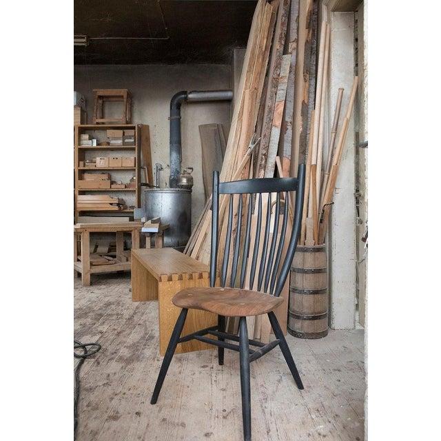 Fabian Fischer Handcrafted Studio Windsor Chair by Fabian Fischer, Germany, 2019 For Sale - Image 4 of 6
