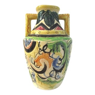 1940s Mediterranean Style Hand-Made Water Jar For Sale