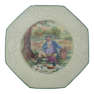 "Wedgwood ""Mr Pickwick"" China Plate"