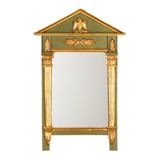 1920s French Empire Style Painted Mirror