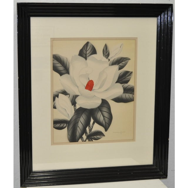 Pair of 1950's Paintings by Shirrell Graves For Sale - Image 5 of 8