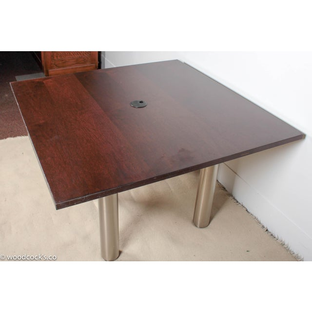 Knoll Reff Square 4ft Office Conference Table - Image 5 of 6