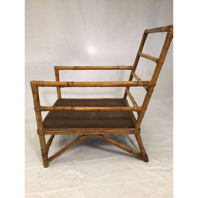 1930s Hollywood Regency Rattan Chairs - A Pair - Image 3 of 7