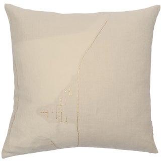 """Yang"" Bonbon Chouval Linen Pillow Marie Burgos For Sale"