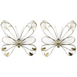 Image of Butterfly Sculptures by Curtis Jere - a Pair For Sale