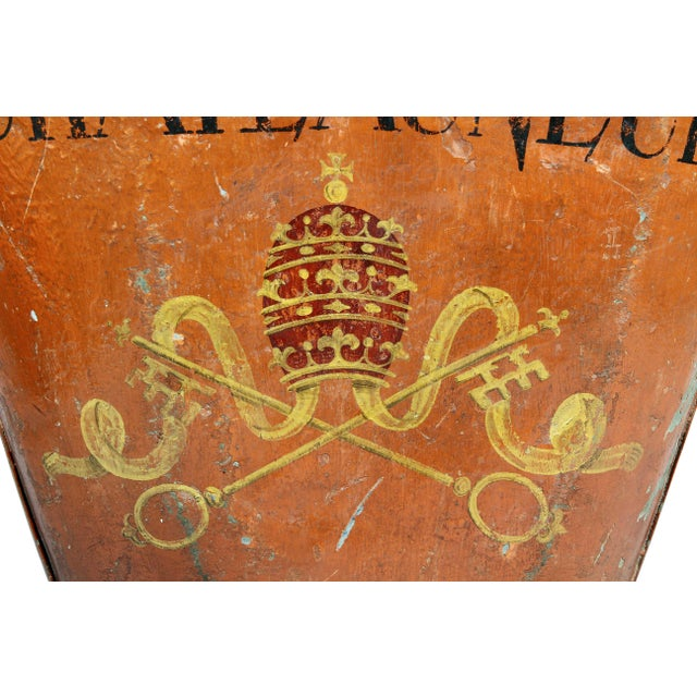 French French Tole Grape Basket from the Chateauneuf Du-Pape For Sale - Image 3 of 9