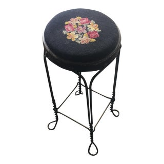 Petite French Ice Cream Stool For Sale