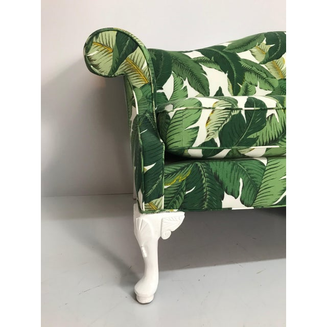 1940s Tropical Leaf Sofa For Sale - Image 4 of 7
