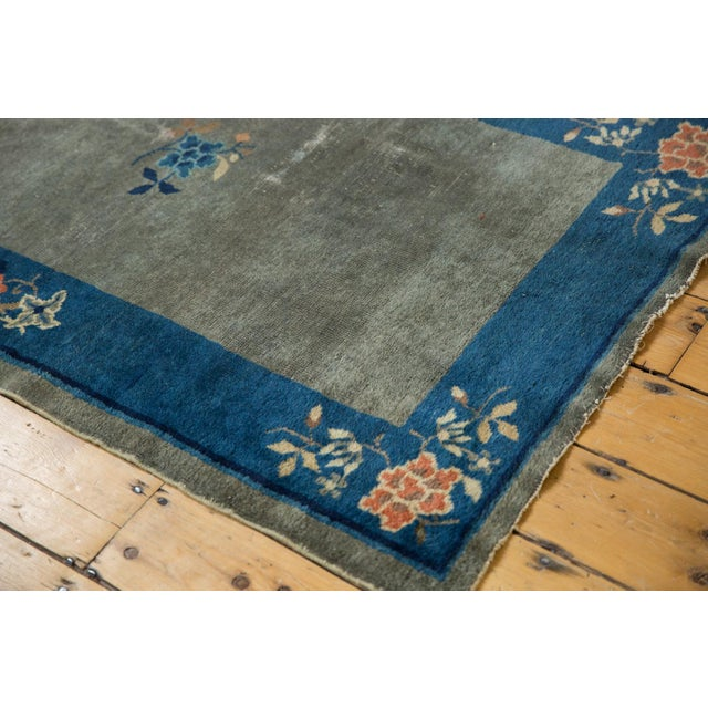 "Antique Peking Rug - 3'1"" X 4'9"" For Sale - Image 9 of 13"