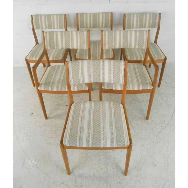 Danish Modern Danish Modern Dining Chairs - Set of 6 For Sale - Image 3 of 9