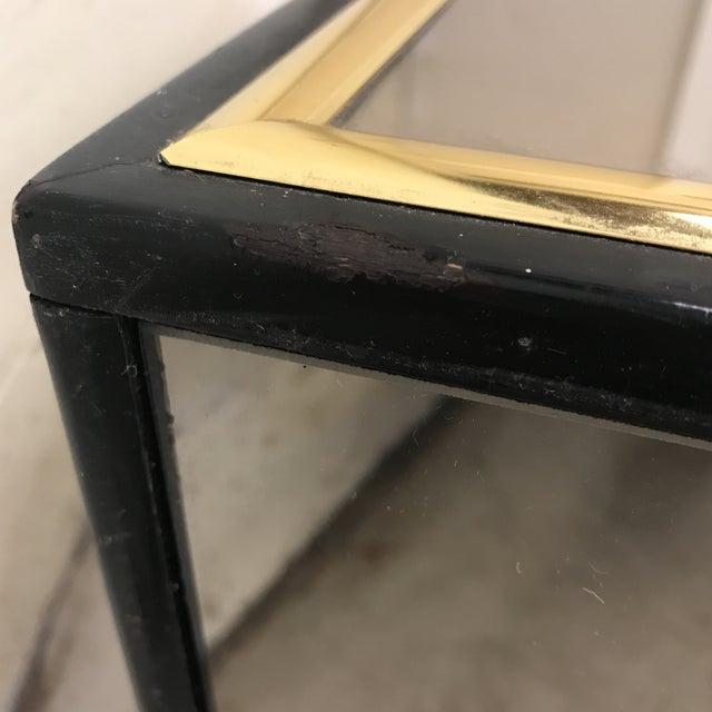 Smoke Bronze Mirror Cube Coffee Table - Image 7 of 11