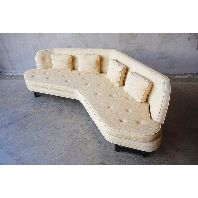 Edward Wormley Edward Wormley for Dunbar 'Janus' Sofa For Sale - Image 4 of 9