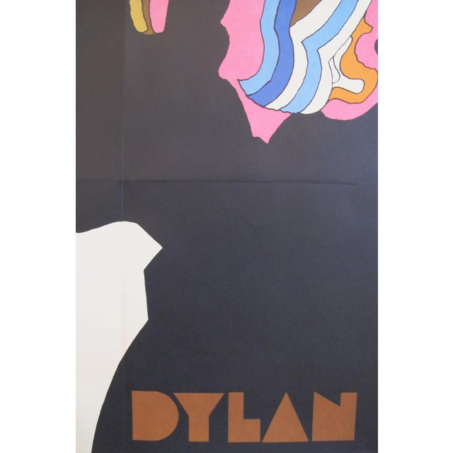 Modern 1966 Original Bob Dylan Silhouette Poster by Milton Glaser For Sale - Image 3 of 5