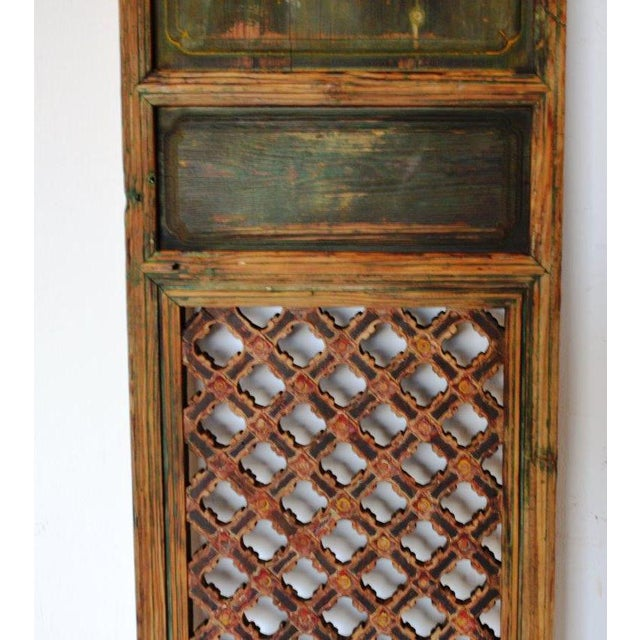 Antique Chinese Rustic Panel Door For Sale - Image 4 of 8