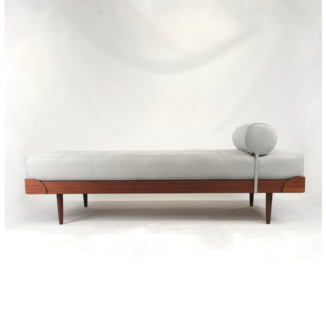 Vintage Danish Teak Daybed For Sale - Image 5 of 5