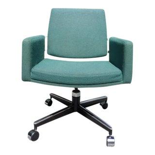 Vintage Mid Century Modern Architectural Swivel Chair Kay Korbing Jg Furniture For Sale