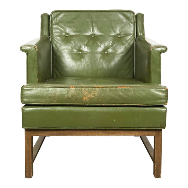 1950s Vintage Edward Wormley for Dunbar Petite Lounge Chair For Sale - Image 11 of 11