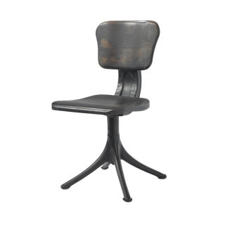 Small Industrial Chair For Sale