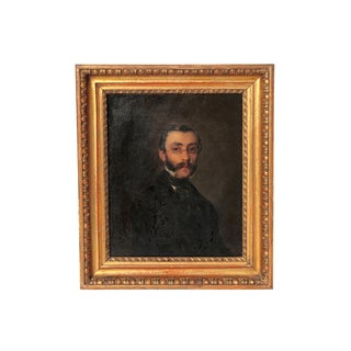 Late 19th Century Portrait of a Gentleman For Sale