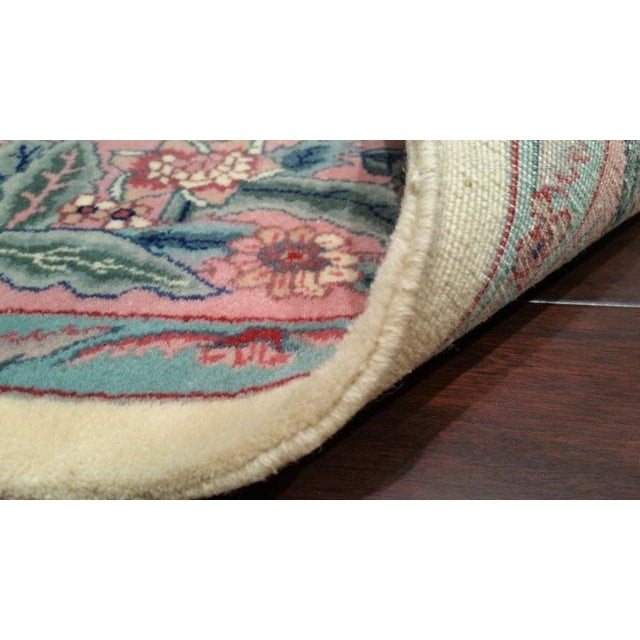 Traditional Handmade Knotted Rug - 6x9 For Sale - Image 4 of 4