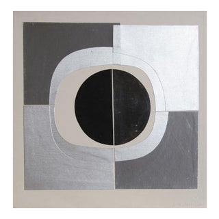 Black Circle Collage by Amadeo Gabino For Sale