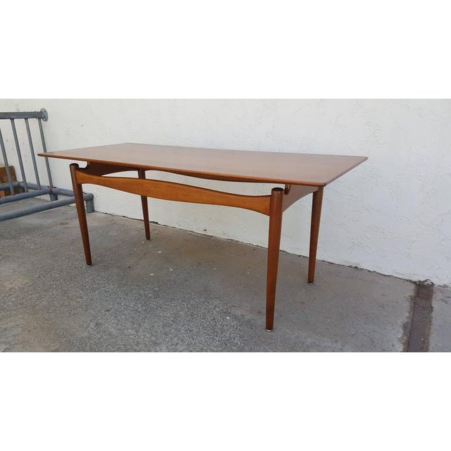 Finn Juhl Teak Coffee Table - Image 2 of 8