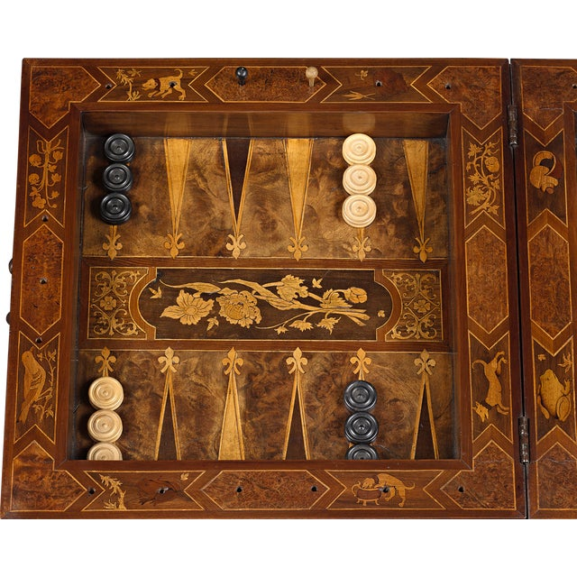 17th-Century German Games Box For Sale In New Orleans - Image 6 of 8