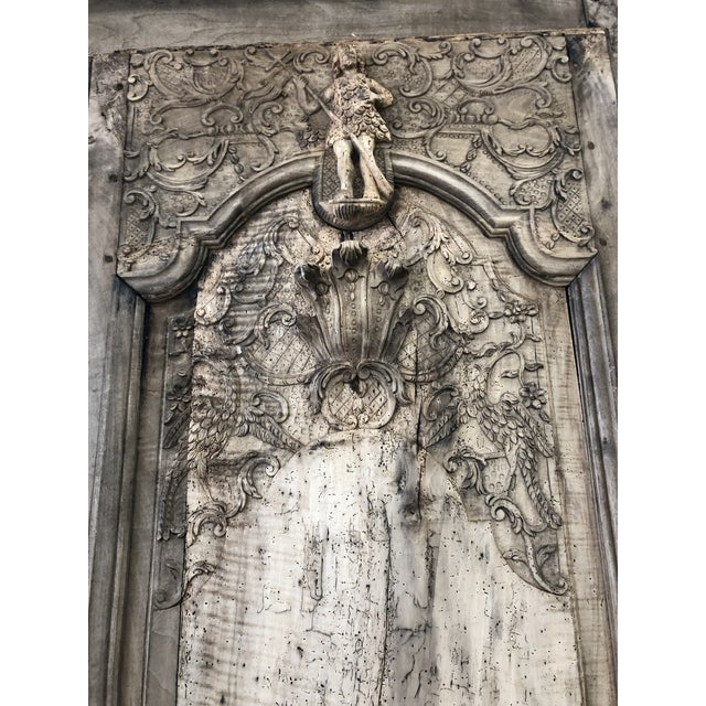 Figurative 18th. C. French Renaissance Carved Armoire For Sale - Image 3 of 13