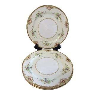 1980s Empress China Dinner Plates - Set of 4 For Sale