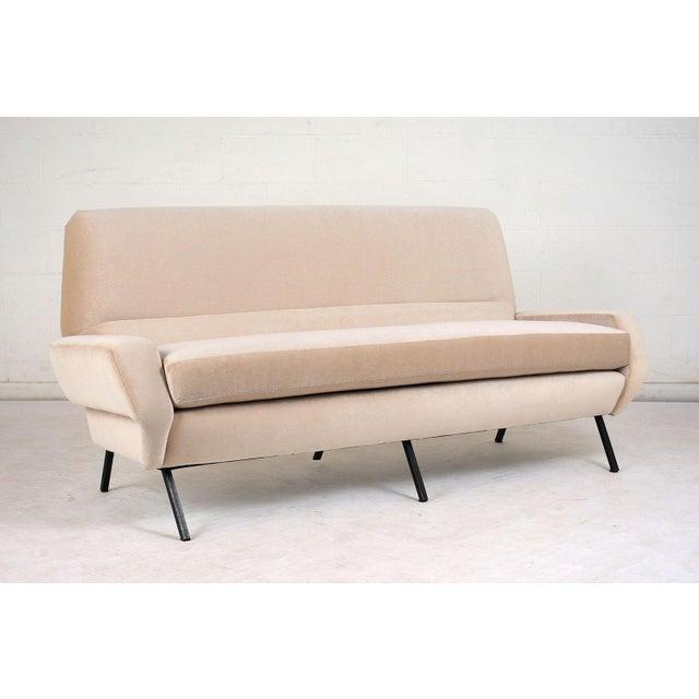 Mid 20th Century Italian Mid-Century Modern Sofa For Sale - Image 5 of 9