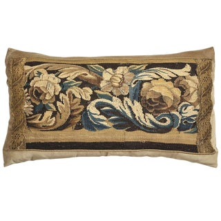 19th Century Tapestry Pillow For Sale